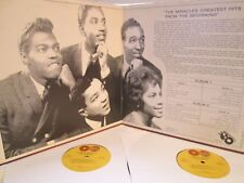 THE MIRACLES GREATEST HITS FROM THE BEGINNING..ORG '65 MONO GLOBES! EX!