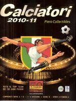 Calciatori 2010-2011 Album Vuoto Panini