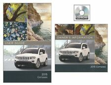 2015 Jeep Compass User Guide plus Owners Manual DVD