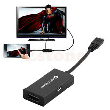 Micro USB MHL to HDMI Cable HDTV Adapter for Samsung Galaxy Tab S5/S4/S3&Note 2