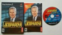 Jeopardy! PlayStation 2 PS2 Complete Game Works Tested -Very Good