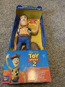 Disney Pixar Toy Story 2 Pull-String Talking Woody Think Way