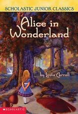 Alice In Wonderland (updated Version) (Scholastic Junior Classics)-ExLibrary