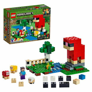 Lego 21153 Minecraft The Wool Farm Set New & Sealed Security Sticker on Box
