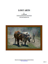LOST ARTS - cross stitch chart