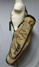 Vintage Ping Karsten Sunday 4 Way Golf Bag  lightweight carry sling bag