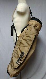 Vintage Ping Sunday Golf Bag Karsten Sling Carry Bag 4 way