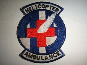 Korea War (1950-1953) Patch US Army 49th Medical Detachment HELICOPTER AMBULANCE