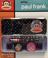 PAUL FRANK STATIONARY SCHOOL PACK & TIN