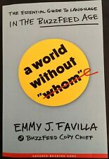 NEW  A World Without Whom by Emmy J Favilla ARC