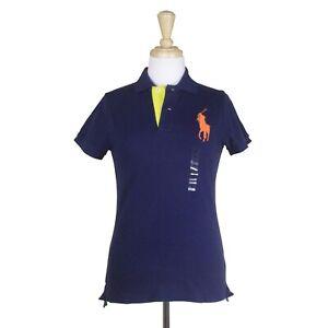 POLO RALPH LAUREN Big Pony Mesh Women's Polo Shirt More Colors Available