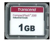 TRANSCEND COMPACT FLASH MEMORY INDUSTRIAL GRADE 1 GB. NUOVA