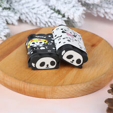 1 Pcs Panda Design Eraser School Supplies Creative Stationery Cut Gifts HU