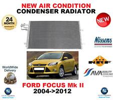 FOR FORD FOCUS II DA AIR CON CONDENSER 2004->2012 1.4 1.6 1.8 2.0 2.5 ST RS 500