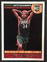 2013-14 Giannis Antetokounmpo NBA Hoops Rookie Card - Bucks RC #275