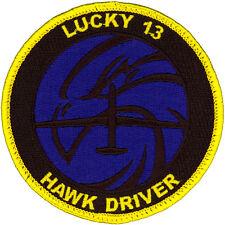 USAF 13th RECONNAISSANCE SQUADRON HAWK DRIVER PATCH