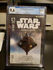 Star Wars Dawn of the Jedi #0 3rd Print CGC 9.6 1st Je'Daii Order Dark Horse