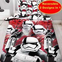 Star Wars The Last Jedi Trooper Bedding Duvet Cover Pillowcase Set Single Bed