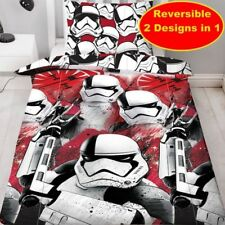 Star Wars The Last Jedi Trooper Bedding Duvet Cover Pillowcase Set Single Bed