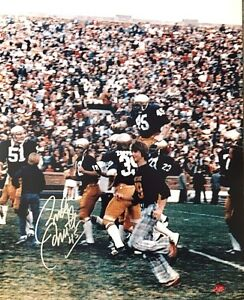 Notre Dame's Rudy Ruettiger autographed 16 x 20 photograph