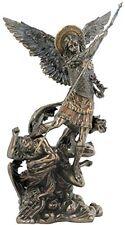 "13.25"" Archangel Michael Statue Figurine Religious San Saint Angel Miguel"