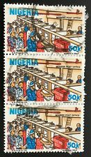 Nigeria stamps - Modern Post Office x3  50 kobo 1986