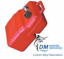 Marine Fuel Tank 25L with Gauge Vertical and Portable