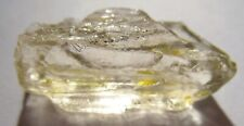 18.47 cts Natural Clean Light Yellow Scapolite Rough Crystal For FACETING
