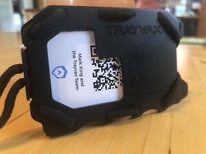 Trayvax Og 2.0 Black Wallet Built In Bottle Opener NEW