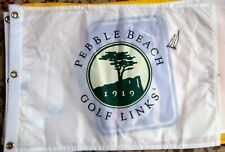 Ernie Els signed flag Pebble Beach