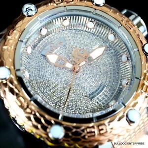 Invicta Subaqua Noma VI 1.8CT Diamond Swiss Automatic 2 Tone Rose Gold Watch New