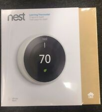 Nest Learning Thermostat 3rd Generation, Works with Amazon Alexa Brand New