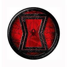 Black Widow Icon Symbol Button Red