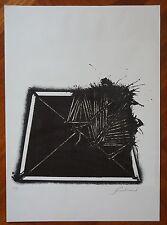 EMILIO SCANAVINO litografia fine anni '60  ''SENZA TITOLO'' (46)