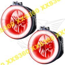 ORACLE Halo FOGLIGHTS Dodge Challenger 11-14 RED LED Angel Eyes