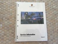PORSCHE OFFICIAL CAYMAN S SERVICE INFORMATION BOOK BROCHURE 2006 USA EDITION NOS