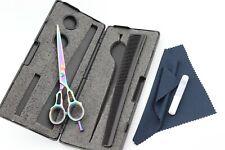 "6"" Professional Salon Hair Cutting Shears Stylish Barber Scissors Multi Colored"