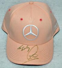 Lewis Hamilton Signed Mercedes Pink 2018 Monaco GP Cap / Hat