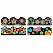"""Trend Terrific Trimmer Variety Pack - Brights On Black - 2.3"""" X 156 Ft -"""