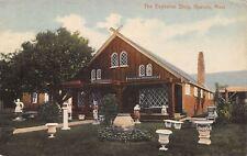 Hyannis Massachusetts~Eagleston Shop~Antique Furniture~Lawn Ornaments~1914 PC