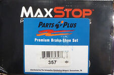 BRAND NEW MAXSTOP BRAKE SHOES 357 FITS VEHICLES LISTED ON CHART