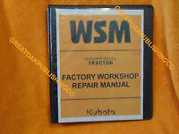 Kubota B2301 B2601 Tractor workshop Service Manual 3 ring binder