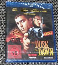 From Dusk Till Dawn - 2 Disc Edition (UNCUT) George Clooney, Blu Ray, NEU