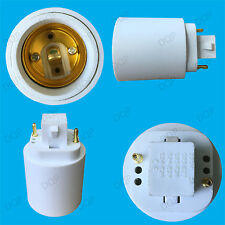 GX24 To ES E27 Edison Screw Light Bulb Socket Converter Adapter Holder