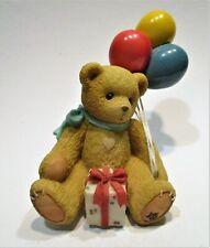"Cherished Teddies Nina ""Beary Happy Wishes"" 1996  215864 Enesco"
