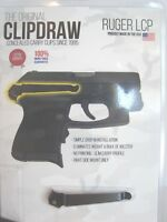 CLIPDRAW carry clip for RUGER LCP.380