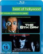 THE 6TH DAY + TERMINATOR 3 (2 Blu-ray Discs) NEU+OVP