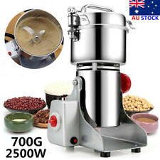 AU 700g Electric Grains Spices Hebals Cereal Dry Food Mill Grinding Machine