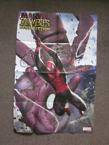 Marvel Comics Marvel Zombies Resurrection Spidey Galactus Superhero Poster 36x24