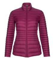 Laura Ashley Womens Cranberry Pink Down Puffer Jacket Coat UK 16 EU 42